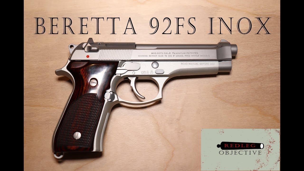 Beretta 92FS Inox - The Beautiful Stainless Inox 92FS