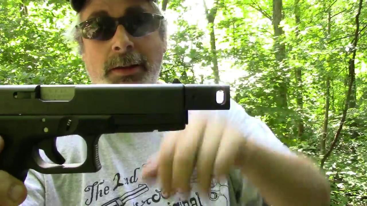 Glock 22 With A KKM Precision Barrel and Compensator