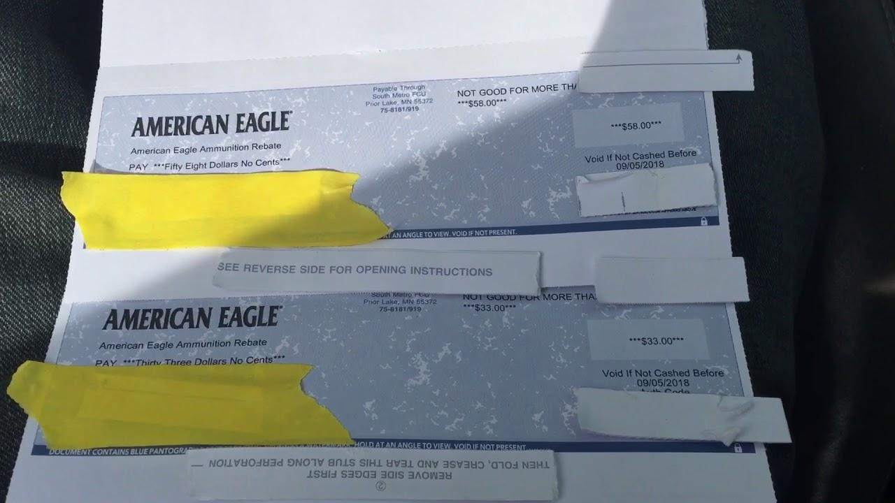 American Eagle Rebate >> Rebate Day From American Eagle March 17 2018