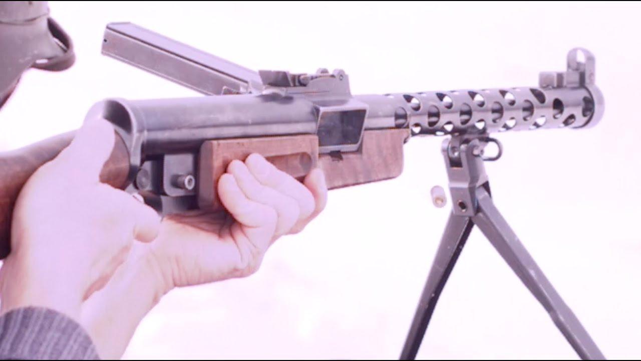 Czech ZK-383 Transferable Submachine Gun