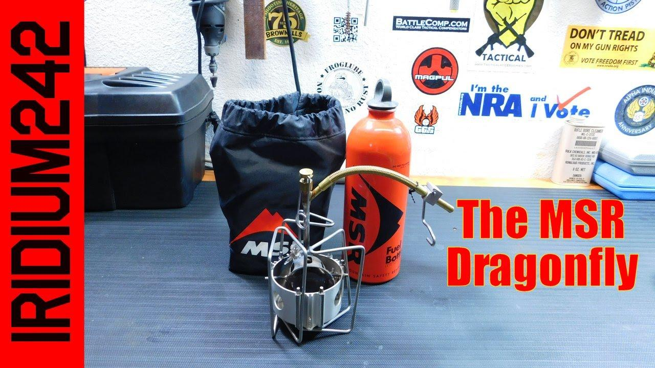 The MSR Dragonfly Stove