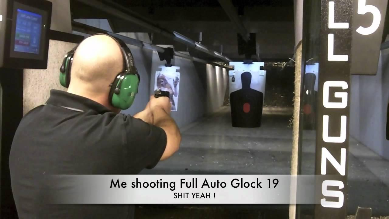 Range Day With Full Auto Glock 19, Ruger 1022, AK & More!
