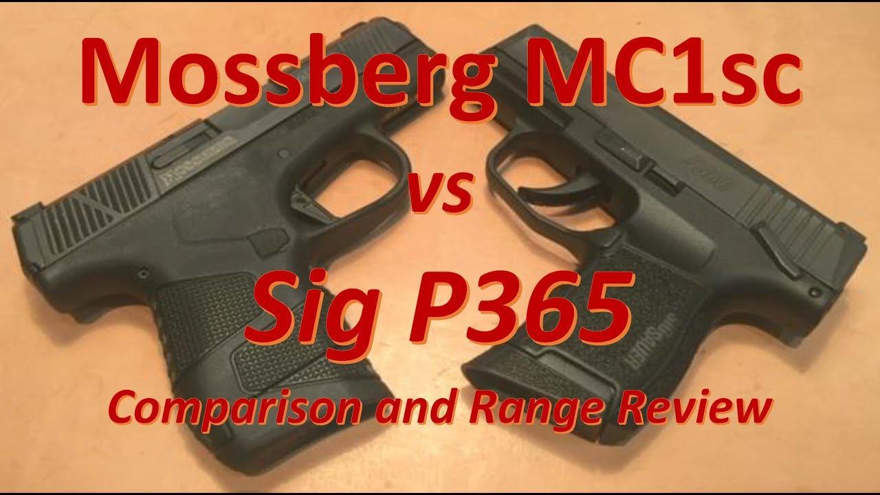 Mossberg MC1sc vs Sig P365