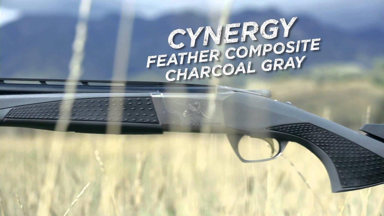 Browning Cynergy Feather Composite Charcoal Gray